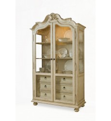 PROVENANCE- DISPLAY CABINET- LINEN