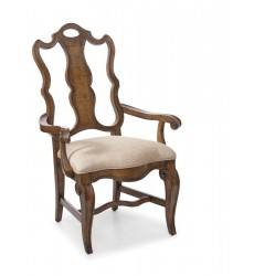 A.R.T. Furniture - Continental - Splat Back Arm Chair - Weathered Nutmeg (237203-2624)