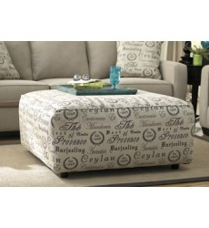 Ashley - Alenya 16600 Oversized Accent Ottoman - Quartz (1660008)