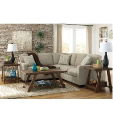 Ashley - Alenya Series 16600 Sectional Sofa - Quartz