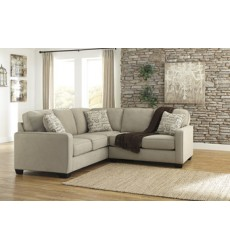 Ashley - Alenya 16600 RAF Loveseat - Quartz (1660056)