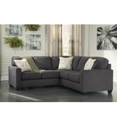 Ashley - Alenya RAF Loveseat - Charcoal ( 1660156 )