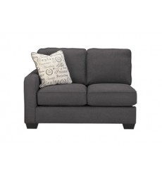 Ashley - Alenya 16601 LAF Loveseat - Charcoal (1660155)