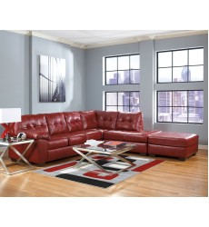Ashley - Alliston Series 20100 Sectional Sofa - Salsa