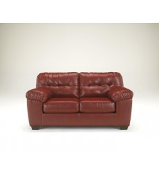 Ashley - Alliston Loveseat - Salsa ( 2010035 )