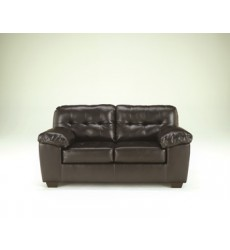 Ashley - Alliston Loveseat - Chocolate ( 2010135 )