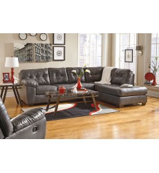 Ashley - Alliston Series 20102 Sectional Sofa - Gray