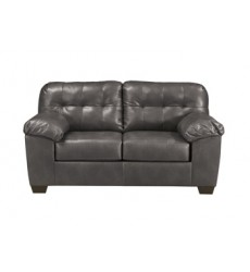 Ashley - Alliston 20102 Loveseat - Gray (2010235)