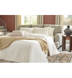Ashley - Almanza 30803 Queen Sofa Sleeper - Wheat (3080339)
