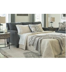 Ashley - Bayonne  37801 Queen Sofa Sleeper - Charcoal(3780139)