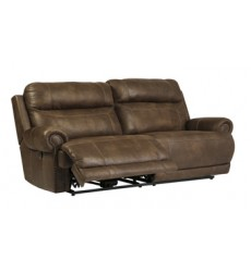 Ashley - Austere 2 Seat Reclining Sofa - Brown ( 3840081 )