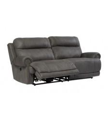 Ashley - Austere 2 Seat Reclining Power Sofa - Gray ( 3840147 )