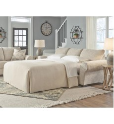 Ashley - Haisley  38901 Queen Sofa Sleeper - Ivory(3890139)
