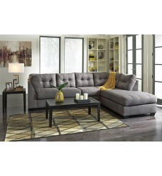 Ashley - Maier 45200 Series Sectional Sofa - Charcoal