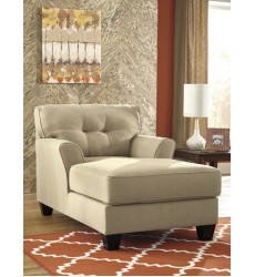Ashley - Laryn 51902 Chaise - Khaki (5190215)