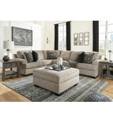 Ashley - Bovarian Series 56103 Sectional Sofa - Stone