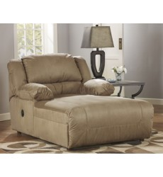 Ashley - Hogan 57802 Press Back Chaise - Mocha (5780204)