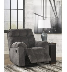 Ashley - Acieona 58300 Swivel Rocker Recliner - Slate (5830028)