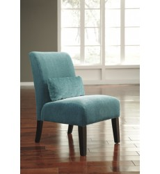 Ashley - Annora 61604 Accent Chair - Teal (6160460)