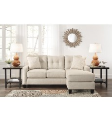Ashley - Aldie Nuvella® 68705 Sofa Chaise - Sand (6870518)