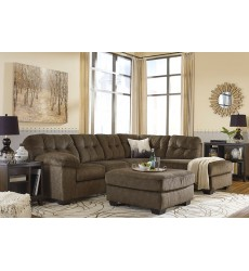 Ashley - Accrington Series 70508 Sectional Sofa - Earth