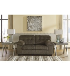 Ashley - Accrington Loveseat - Earth ( 7050835 )