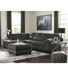 Ashley - Accrington Series 70509 Sectional Sofa - Granite