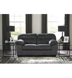 Ashley - Accrington Loveseat - Granite ( 7050935 )