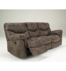 Ashley - Alzena 71400 Reclining Sofa - Gunsmoke (7140088)