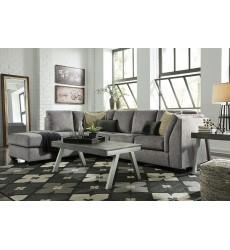 Ashley - Belcastel Series 72305 Sectional Sofa - Ash
