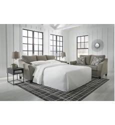Ashley - Barnesley  86904 Queen Sofa Sleeper - Platinum(8690439)