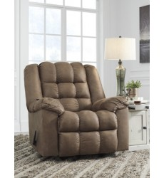 Ashley - Adrano 89302 Rocker Recliner - Bark (8930225)