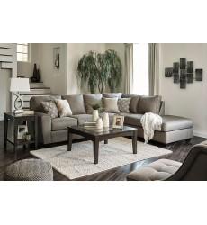 Ashley - Calicho 91202 Series Sectional Sofa - Cashmere
