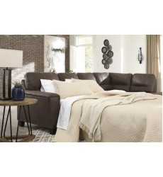 Ashley - Navi  94003 LAF Sofa Sleeper - Chestnut(9400369)
