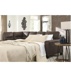Ashley - Navi  94003 RAF Sofa Sleeper - Chestnut(9400370)