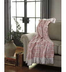 Ashley - Cassbab A1000081 Throw (3/CS) - Coral (A1000081)