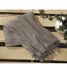 Ashley - Mendez A1000614 Throw (3/CS) - Taupe (A1000614)