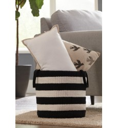 Ashley - Edgerton A2000098 Basket (2/CS) - Black/White (A2000098)