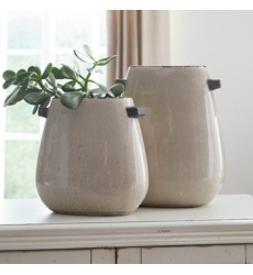 Ashley - Diah Vase Set (2/CN) - Tan ( A2000109 )