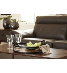 Ashley - Diantha Tray - Black/Natural ( A2000134 )
