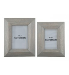 Ashley - Cadewyn A2000159 Photo Frame (Set of 2) (2/CS) - Gray (A2000159)