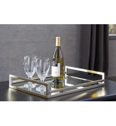Ashley - Derex Tray - Silver Finish ( A2000255 )