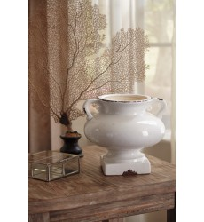 Ashley - Dierdra Urn - Antique White ( A2000270 )