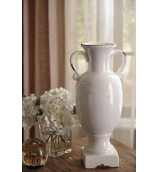 Ashley - Dierdra Urn - Antique White ( A2000271 )