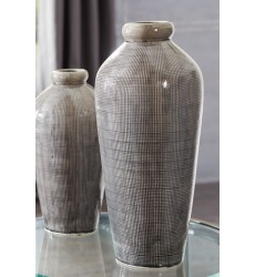 Ashley - Dilanne Vase - Gray ( A2000279 )