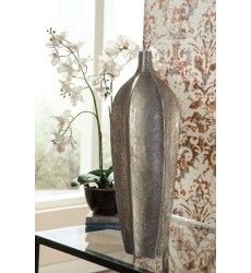 Ashley - Derion Vase - Antique Silver Finish ( A2000305 )