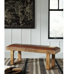Ashley - Eduardo Accent Bench - Brown ( A3000005 )
