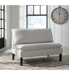 Ashley - Arrowrock Accent Bench - White/Gray ( A3000112 )