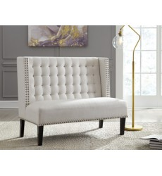 Ashley - Beauland Accent Bench - Ivory ( A3000116 )