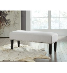 Ashley - Beauland Accent Bench - Ivory ( A3000117 )